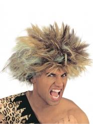 Parrucca da uomo primitivo bionda