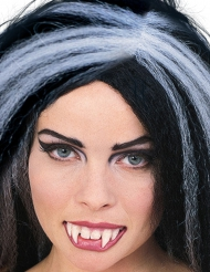 Dentiera da vampiro con colla halloween