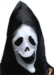Maschera da fantasma fosforescente con cappuccio