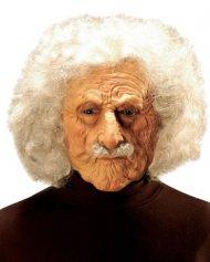 Maschera da scienziato con capelli bianchi