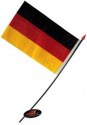 Image of Bandierina tedesca 14 x 9 cm