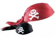 Cappello a bandana da pirata per adulto