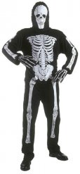 Costume da scheletro per bambino Halloween