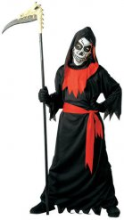 Costume da morte halloween per bambino