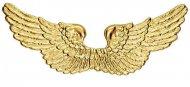 Ali di angelo dorate 88x25cm