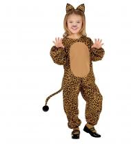 Costume tuta da leopardo per bambina