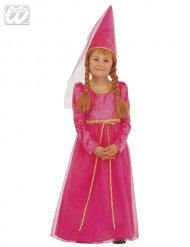 Image of Costume Principessa rosa per bambina