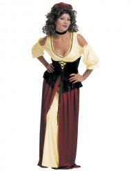 Costume da popolana medievale per donna