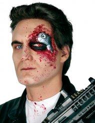 Falsa ferita da cyborg con LED