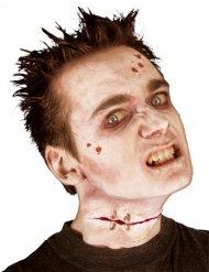 Ferita finta da zombie con punti