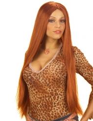 Parrucca lunga ramata da donna