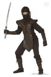 Costume guerriero ninja colore marrone da bambino