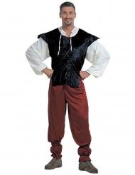 Costume da oste medievale per uomo