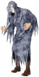 Costume da fantasma grigio per uomo