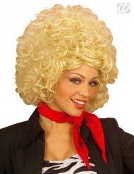 Parrucca donna bionda anni 60