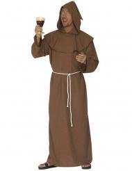 Costume marrone da monaco per uomo