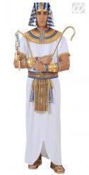Costume faraone egizio bianco per uomo