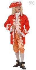 Costume da nobile elegante barocco per uomo