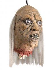 Decorazione da appendere testa di zombie