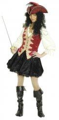 Costume da capitano dei pirati per donna
