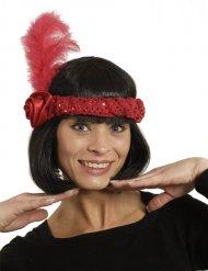 Fascia charleston rossa per donna