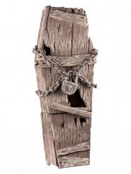 Bara imitazione legno con catene 39 x 150 cm