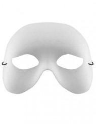 Maschera veneziana bianca per adulto