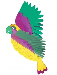 Decorazione pendente pappagallo multicolore