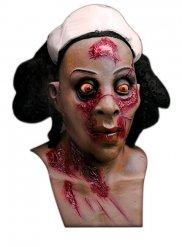 Maschera da infermiera zombie