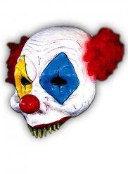 Maschera terrificante da clown per adulto