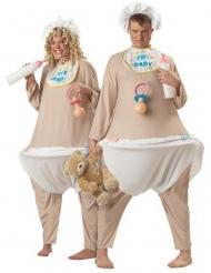Costume da neonato deluxe per adulto