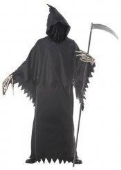 Costume da morte senza volto per uomo halloween