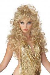 Parrucca lunga bionda Anni