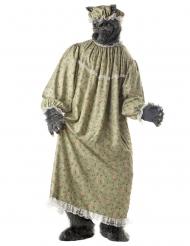 Costume nonna lupo per adulto