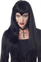 Parrucca vampiro gotico per donna