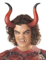 Corna e denti da diavolo adulto