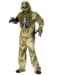 Cotume corpo fossilizzato adulto per Halloween