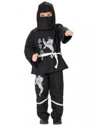 Costume da ninja per bambino bianco e nero