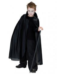 Mantello nero da vampiro per bambino