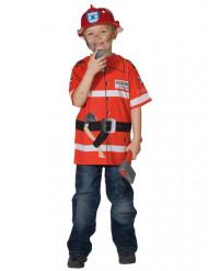Maglietta da pompiere per bambini