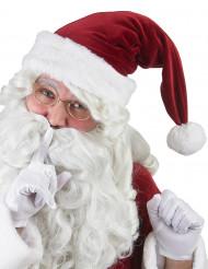 Cappello da Babbo Natale Super lusso per adulto