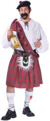 Costume da scozzese per uomo taglia grande