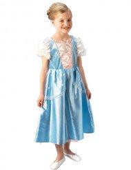 Costume azzurro e bianco da principessa per bambina