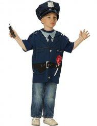 Maglia da poliziotto per bambino