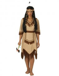 Costume da indiana apache per donna