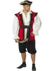 Costume da pirata nobile per uomo
