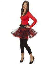 Body con maniche lunghe rosso per donna