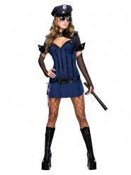 Costume da agente di polizia sexy per donna