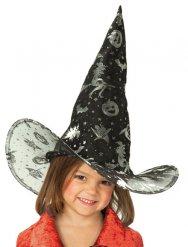 Cappello da strega nera per bambina