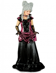 Costume barocco viola e nero per donna